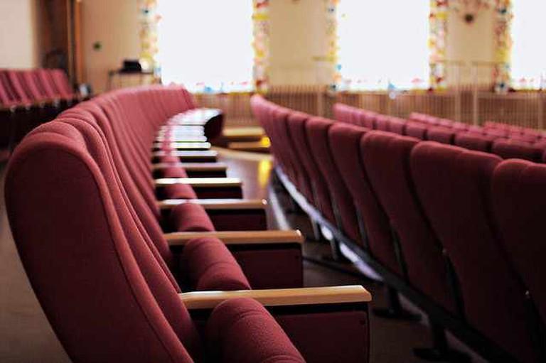 Movie Theatre Seats | ©Janne Moren/Flickr
