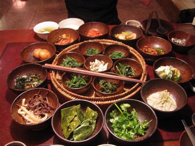 Korean temple food at Sanchon