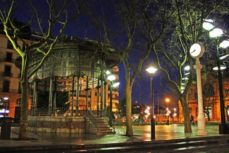 Basque Country by night | © Arrano/Flickr