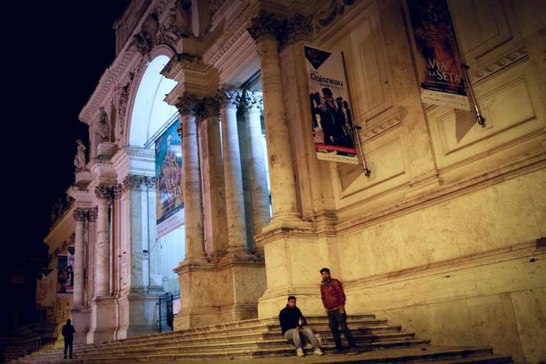 Palazzo degli Esposizioni at night | © ChenchenZH/Flickr