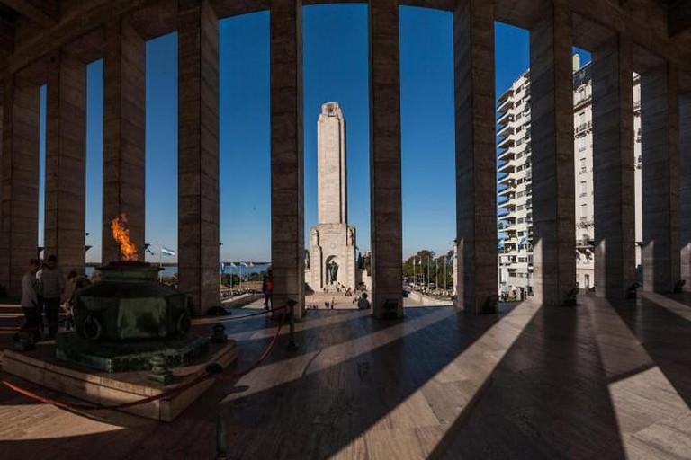 Rosario's National Flag Monument Ⓒ sandeepachetan.com travel/Flickr