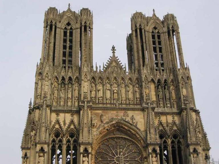Cathédrale Notre-Dame de Reims   © Magnus Manske/WikiCommons