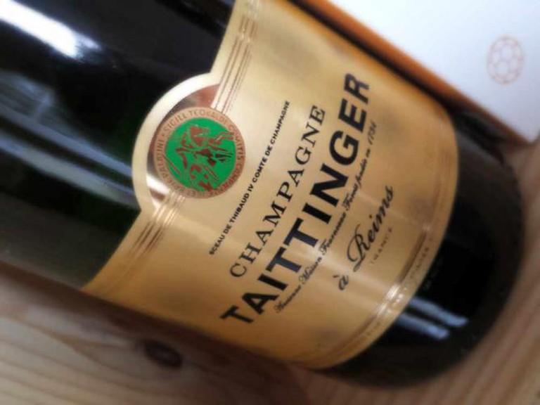 Champagne Taittinger   © Dominic Lockyer/Flickr