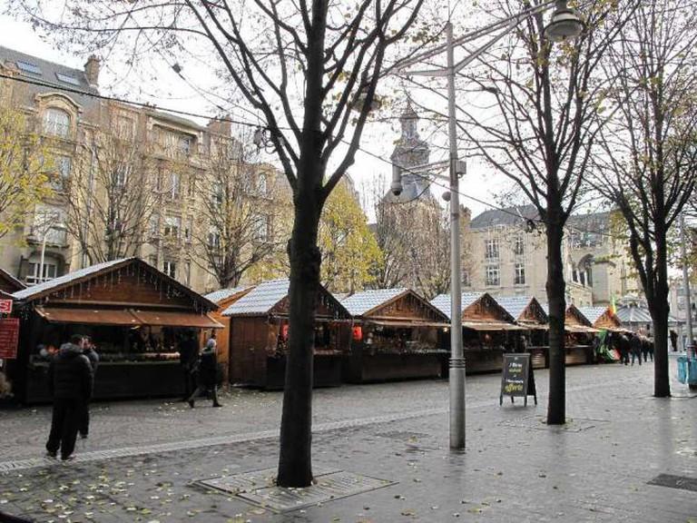 Marché de Noël sur la Place Drouet d'Erlon   © Tangopaso/WikiCommons