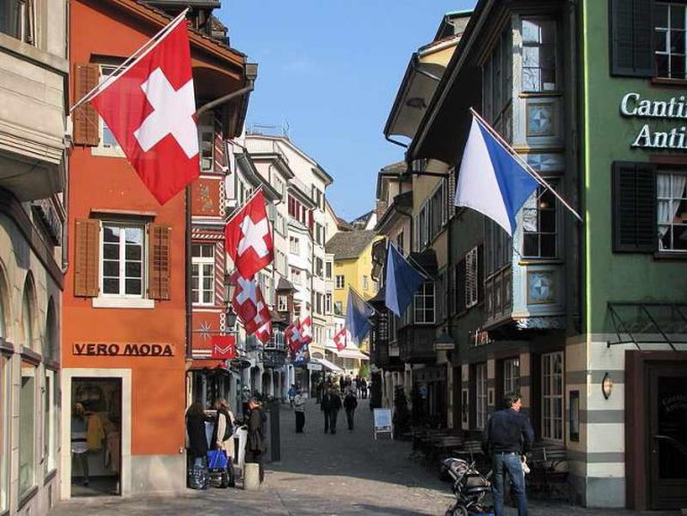 Zürich's old town | © Roland zh/WikiCommons