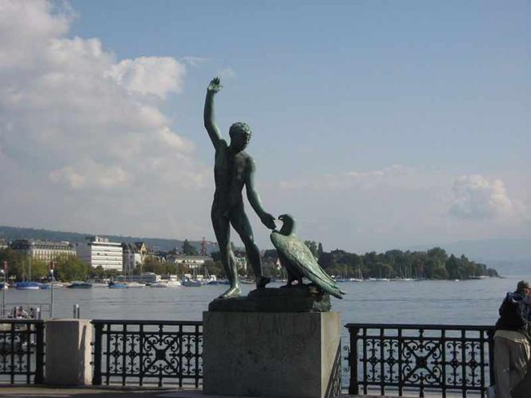 Ganymede statue on the Bürkliterasse | © Sgail/WikiCommons