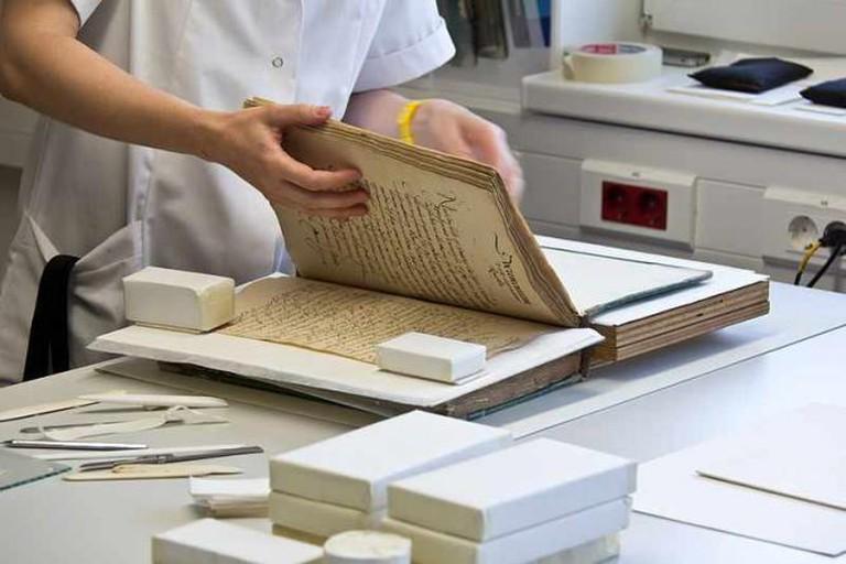 Book restoration