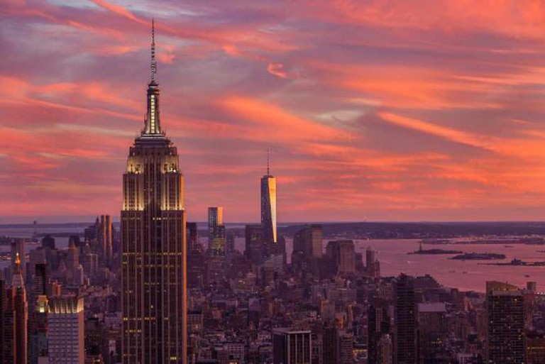 Manhattan sunset | © Anthony Quintano/Flickr