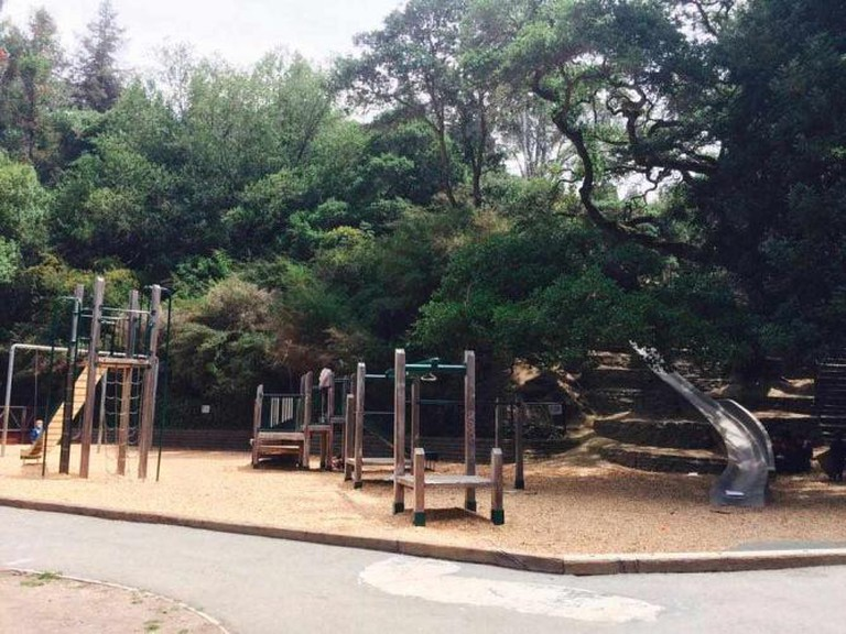 Play Structure at Cordornices Park