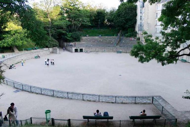 Amphitheater - Arènes de Lutece