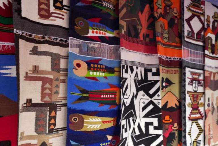 Bright Ecuadorian Textiles