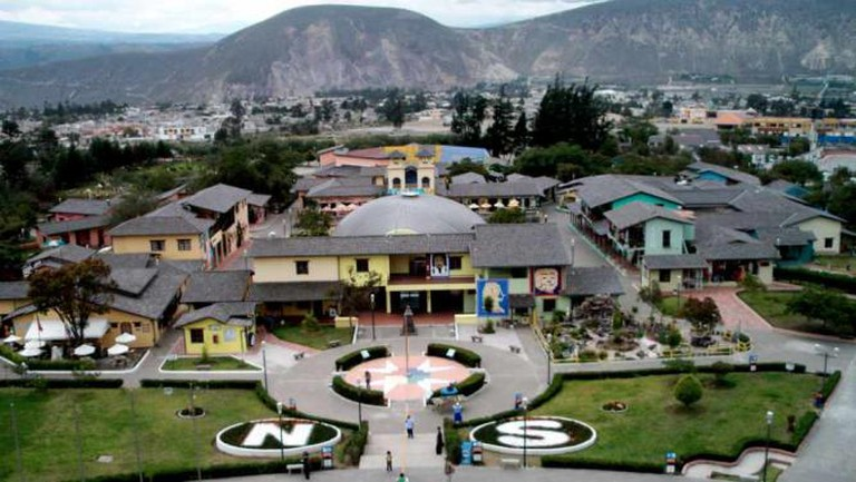 Shops of the City of Mitad del Mundo