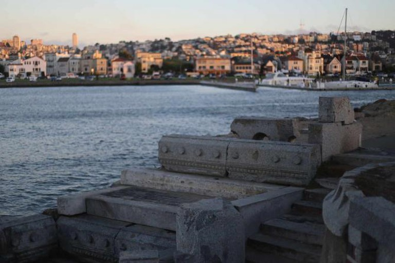 Wave Organ with the San Francisco Yacht Harbor