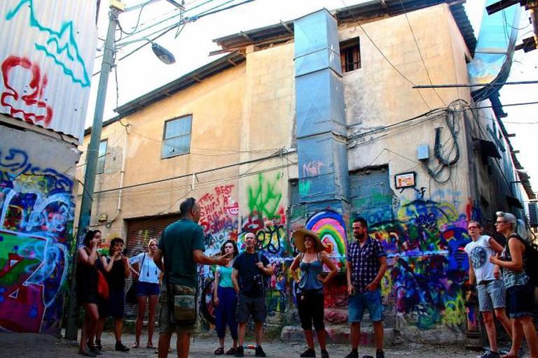 Street Wise Tour in Action © Gabriela Kramer