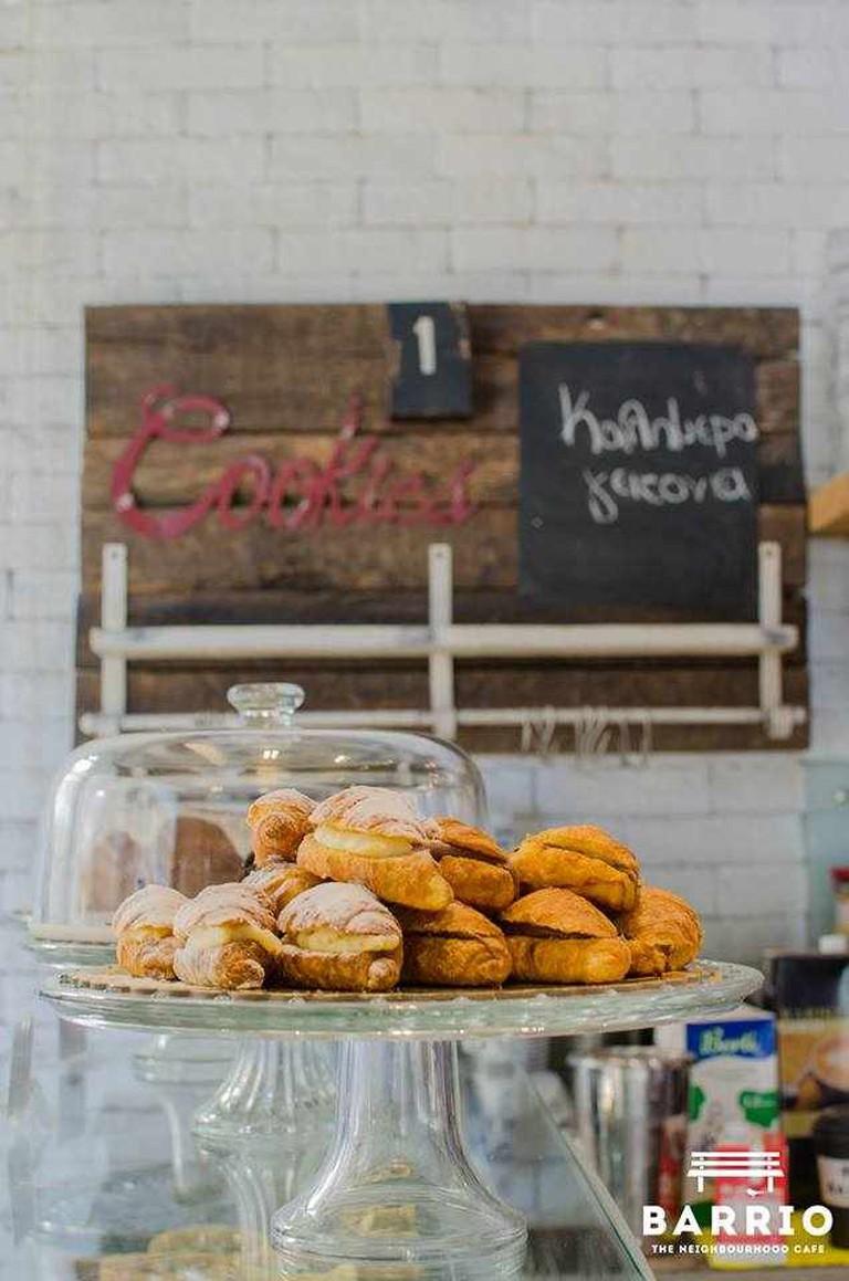 Homemade croissants | Courtesy of Barrio Cafe