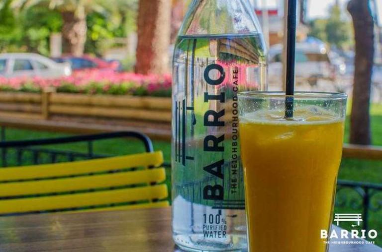 Fresh orange juice | Courtesy of Barrio Cafe