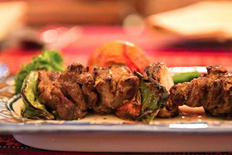 Enjoy traditional Persian cuisine at Lala Rokh