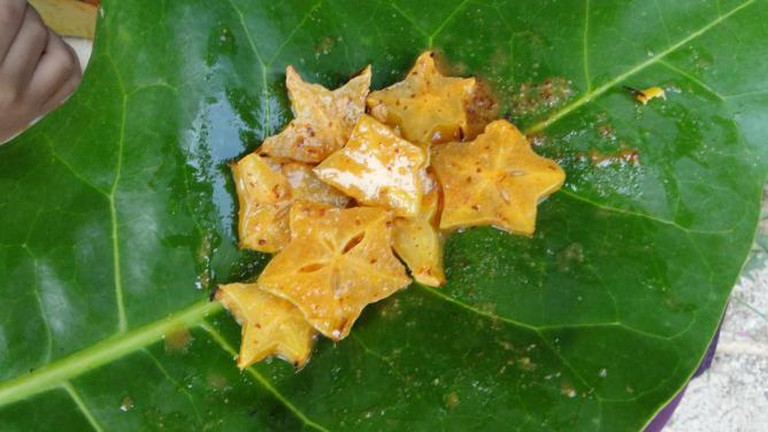 Star fruit chaat| © Ankur P/Flickr
