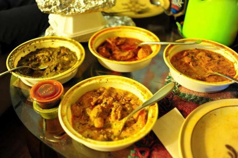 Indian food | © eddie welker/Flickr