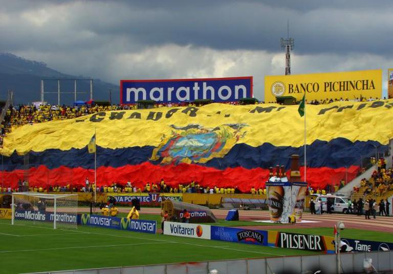 Estadio Atahualpa Ecuador | © Andres Perez/WikiCommons