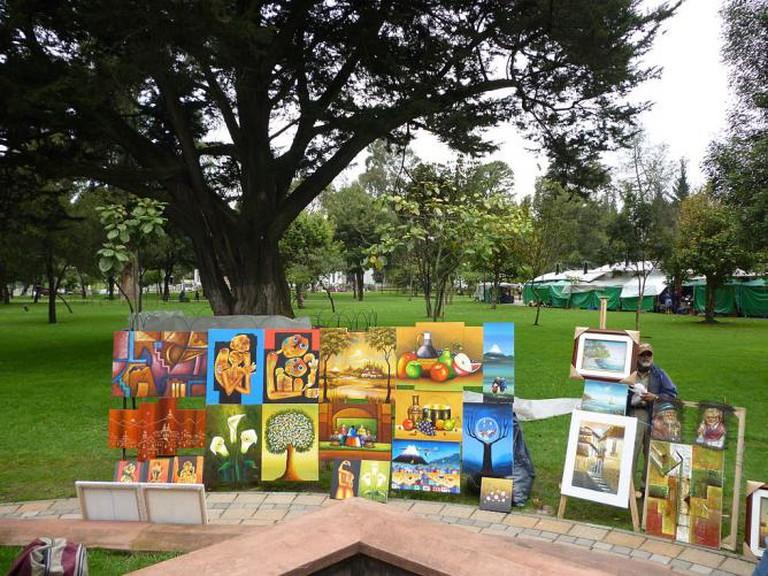 Art in Parque El Ejido