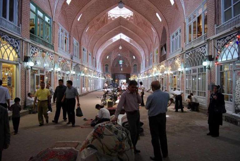 Tabriz Bazar | © Vathlu/Wikicommons
