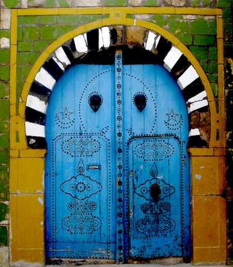 Tunisian door | © Abderrazek Hakimi/Flickr