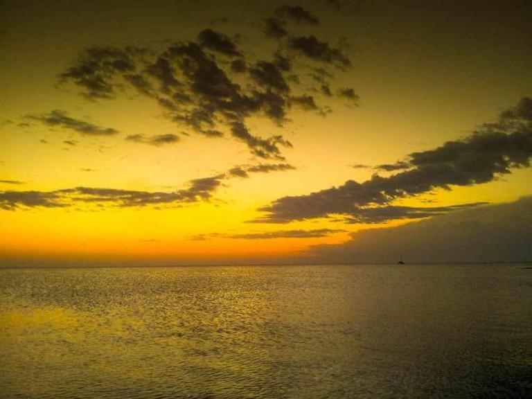 Sunset over the ocean | © Shokri Mahmoudi/Flickr