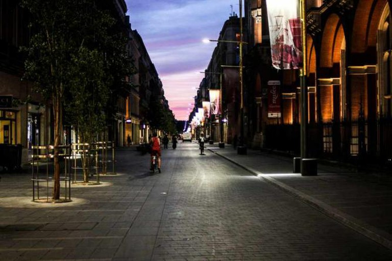 Toulouse at dusk