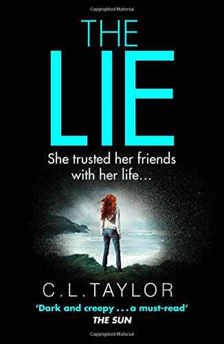 Book cover of The Lie by CL Taylor