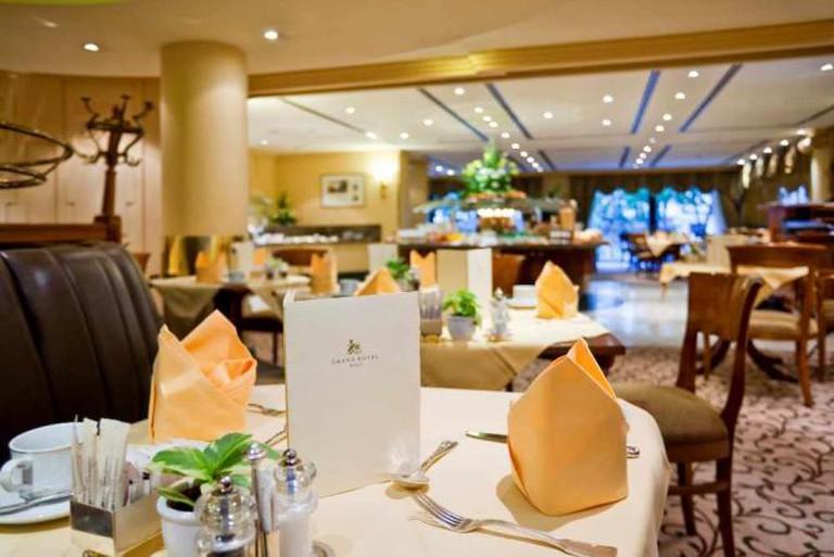 Grand Café © Image courtesy of Grand Hotel