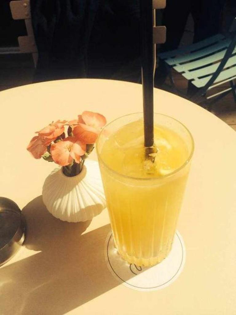 Homemade lemonade | Courtesy of Stereo Cafe