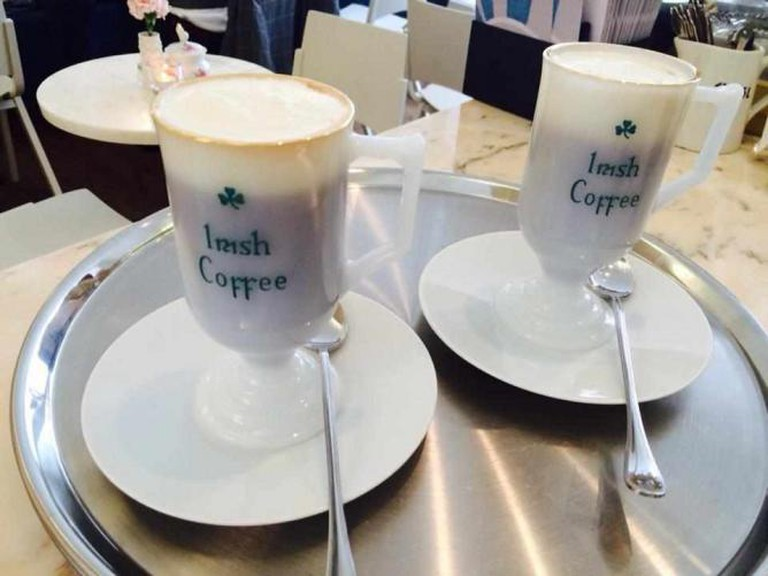 Irish coffee, perfect for a cold morning | Courtesy of Stereo Cafe