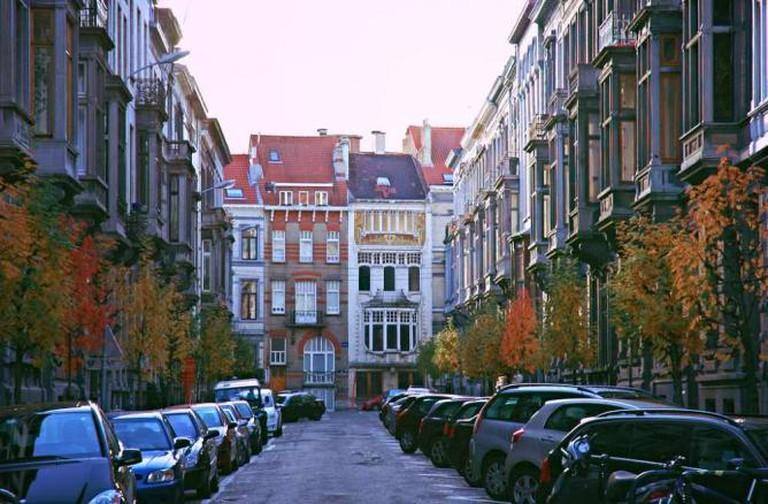 Belgique-rue autour de l'avenue Louise