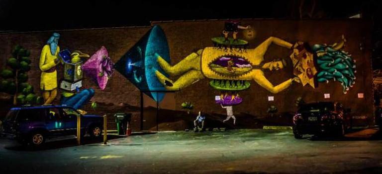 Mural in East Atlanta Village | © Bradley Huchteman/Flickr