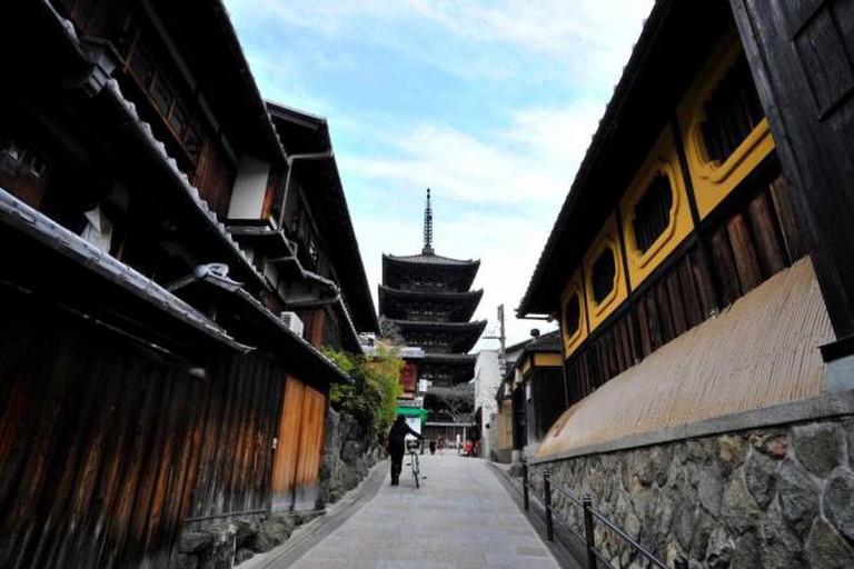 Kiyomizu dera near The Sodoh Higashiyama Kyoto