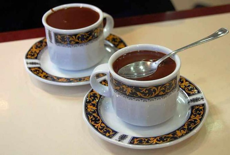 Spanish hot chocolate I © LWY/WikiCommons