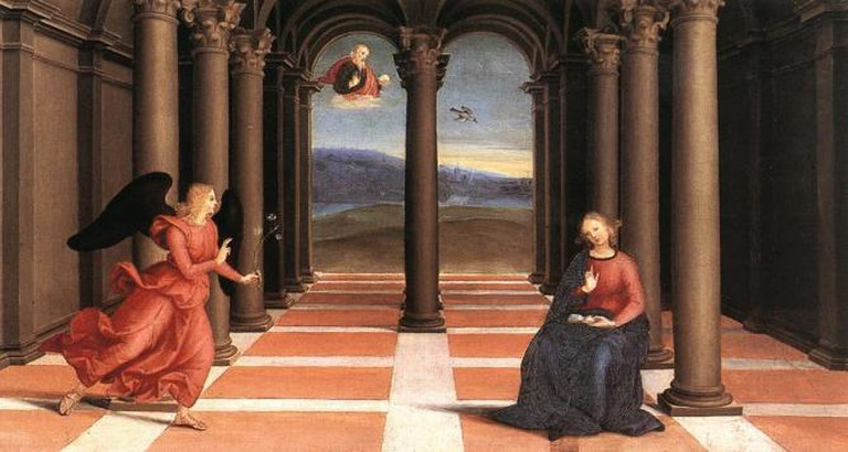 Raphael's 'The Annunciation'