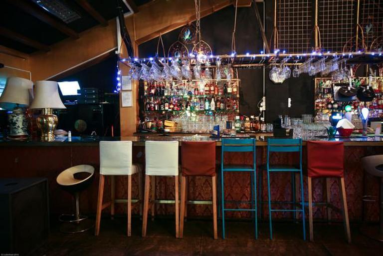 Bar at Blu Jaz Cafe   © Tommy Low/Flickr