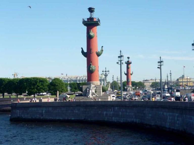 Rostral Column by Olga Zhiganova/WikiCommons