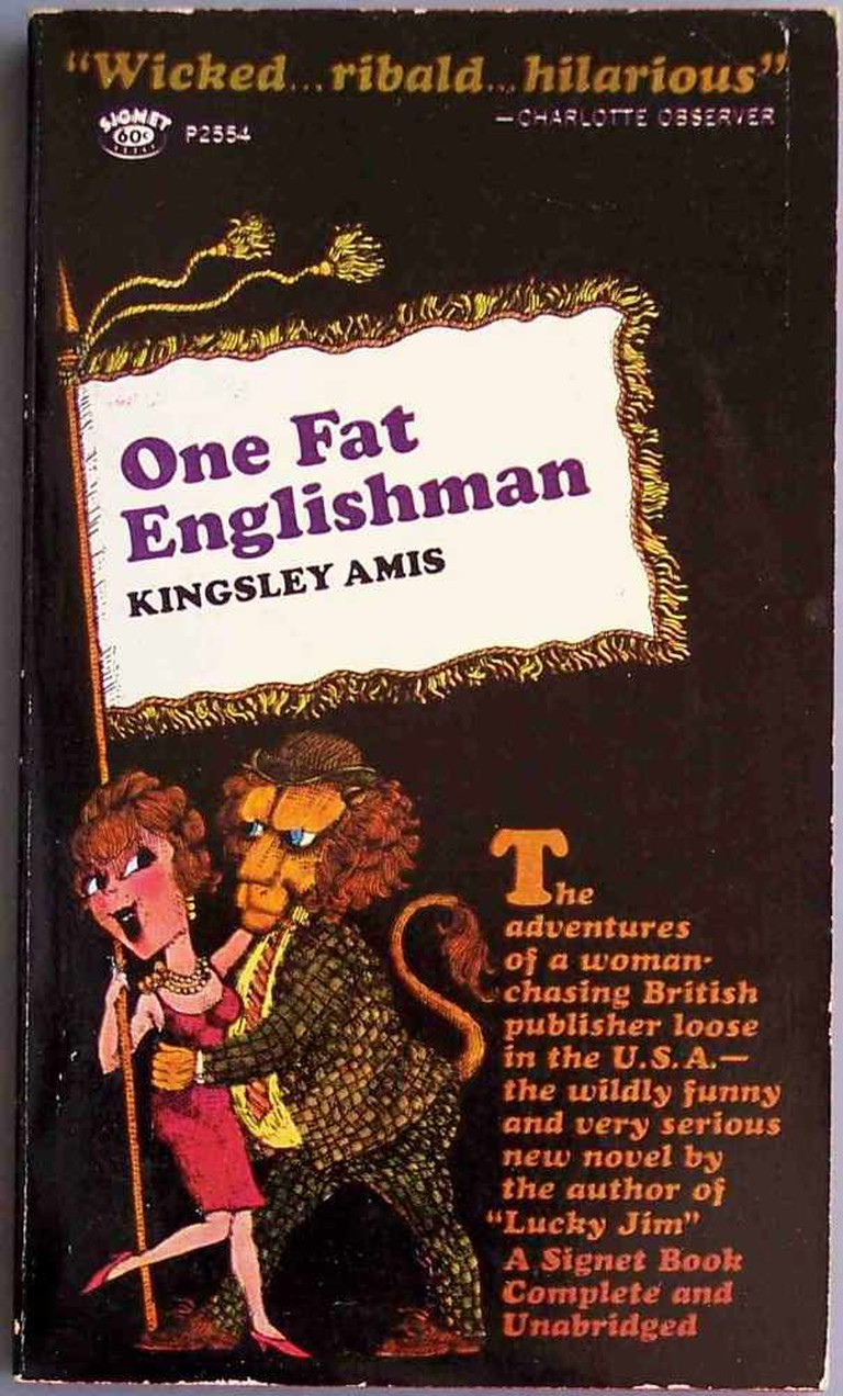 One Fat Englishman (1963) Book Cover |©Chris Drumm/Flickr