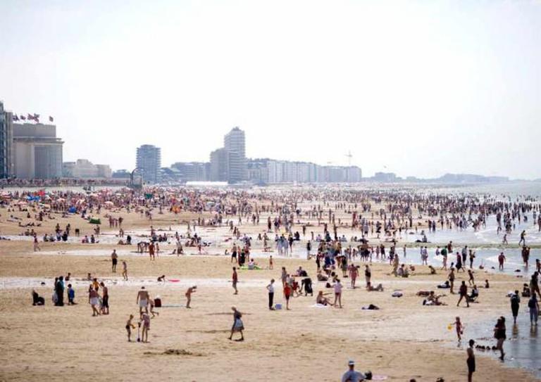 Oostende's beach | © VISITFLANDERS/Flickr