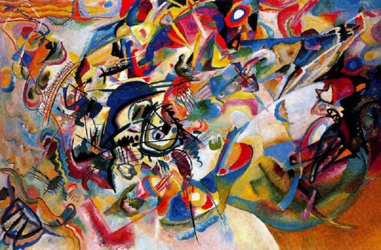 Composition VII, 1913 | © Fæ/WikiCommons
