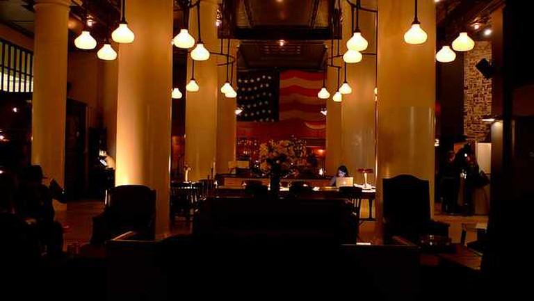 Ace Hotel's lobby