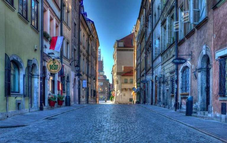 Warsaw's Old Town, Nowomiejska street | © Paweł Banaszkiewicz/Flickr