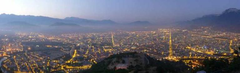 Grenoble de nuit | © Matthieu Riegler/WikiCommons