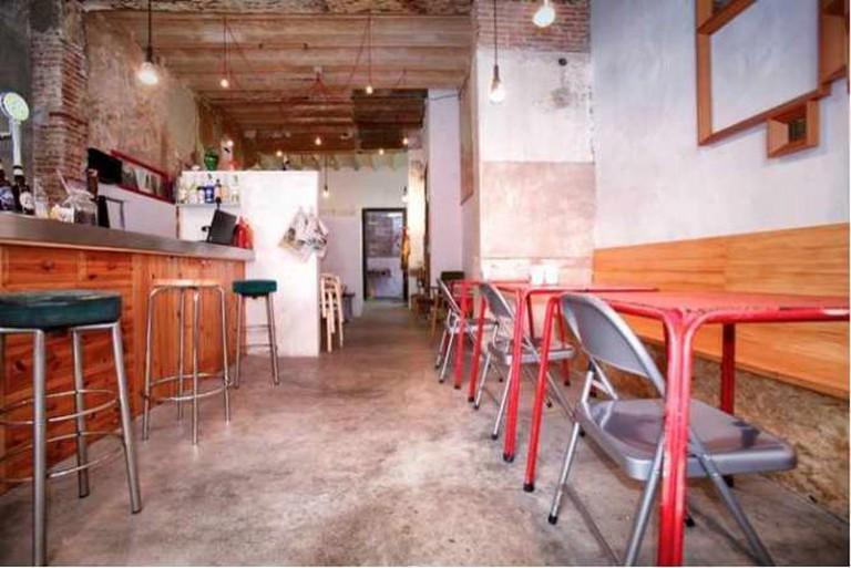 Interior of Bar Rufián