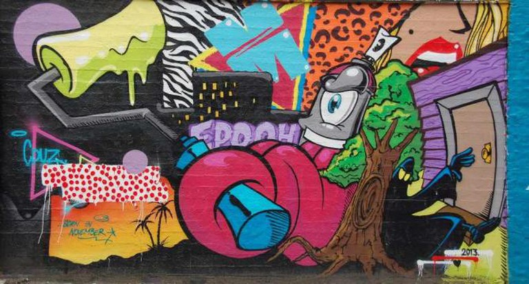 Street Art around Bla