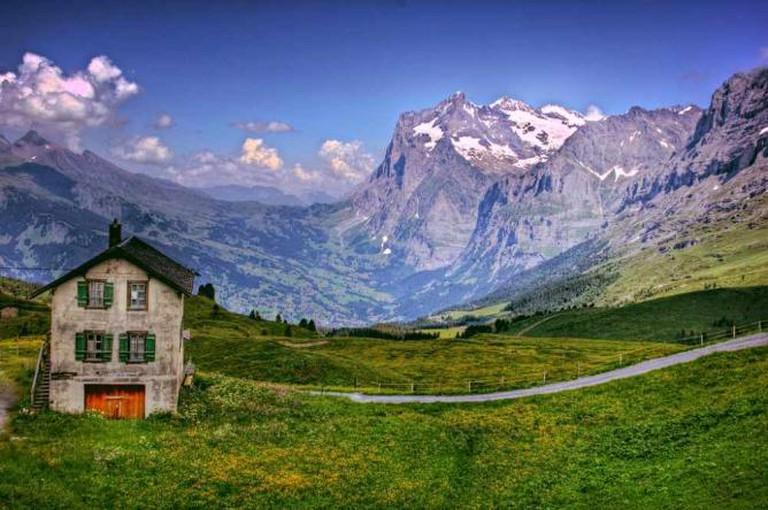 Kleine Scheidegg ©Ed Coyle/Flickr