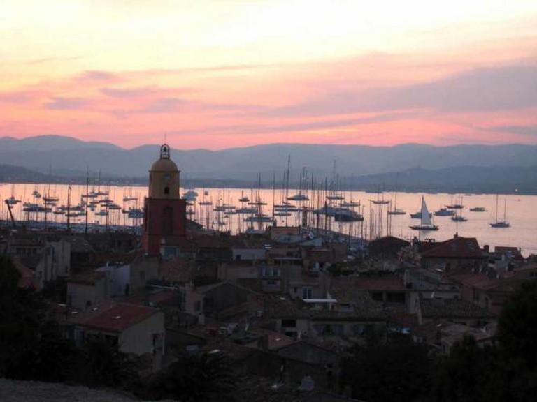 St Tropez - Coucher de soleil